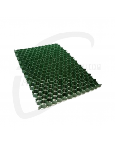 Grasdal kunststof groen