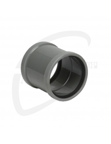 PVC steekmof grijs Benor 110mm SN8