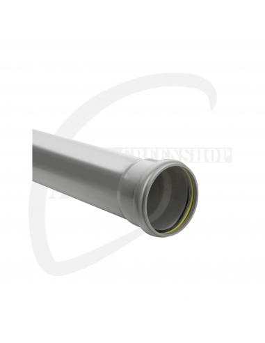 PVC mofbuis grijs benor 125x3.2mm sn4 3m
