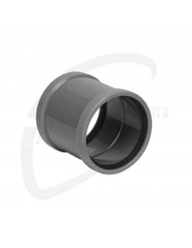 PVC steekmof grijs Benor 125mm SN8