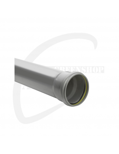PVC mofbuis grijs benor 160 x 4.7 mm SN8 3m