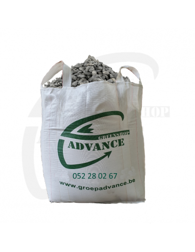 Kalksteenslag in big bag