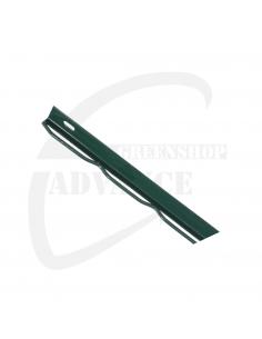 Muuraansluiting groen (RAL 6005)