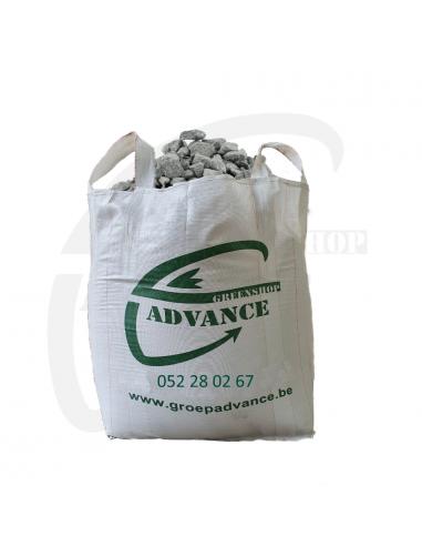 Gravier grijs in big bag