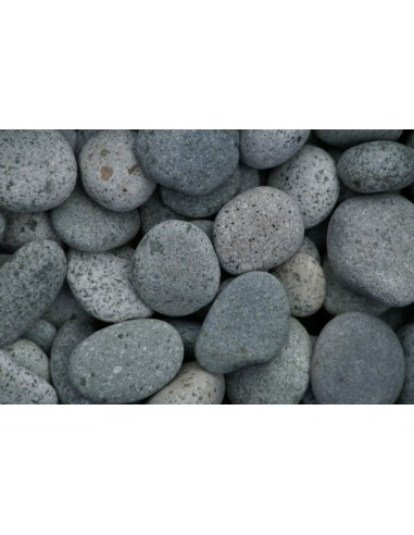 Beach Pebbles grijs zak 20kg