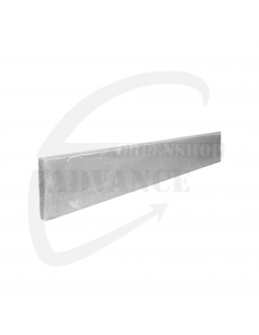Betonplaat (lxhxd) 200cmx40cmx3,5cm