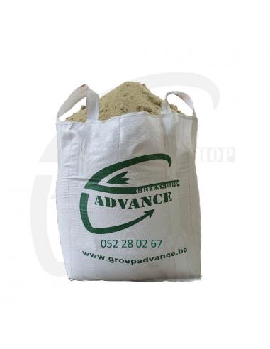 Pistezand voor buitenpiste 1m³ big bag