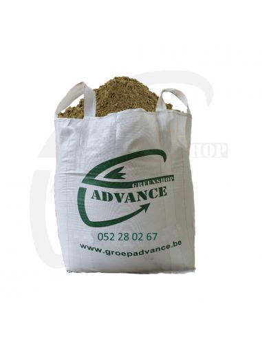 Ongezeefd Scheldezand in 1 m³ big bag