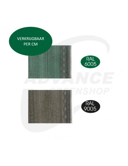 Afschermdoek 90% ondoorzichtig - zwart/groen - Advance Greenshop