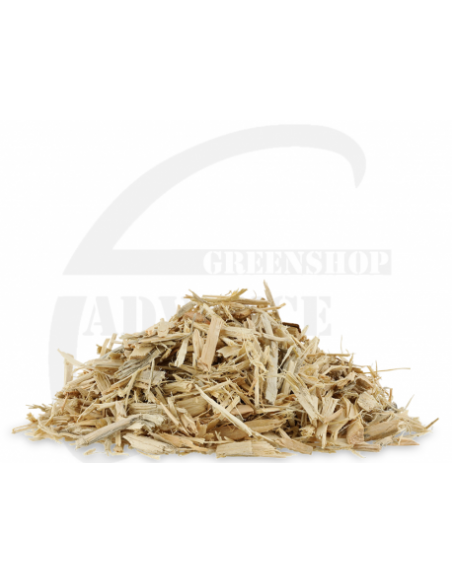 Ecomulch houtsnippers ongekleurd