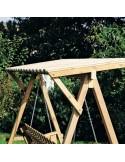 Schuifpoort Op Rails Type: Hoog 185cm L410x450