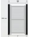 1,5m³ voetpadcontainer