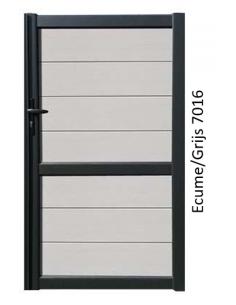 PVC T-stuk 45° grijs Benor 125mm 3xmof SN4