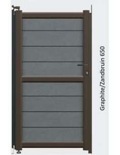 PVC T-stuk 88° grijs Benor 125mm 3xmof SN4