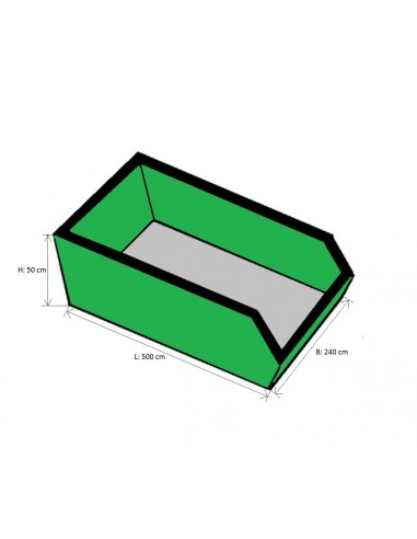 6m³ container Advance Greenshop