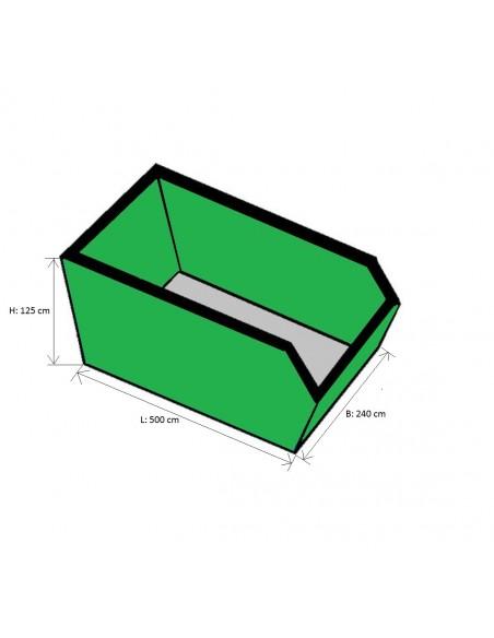 15m³ container